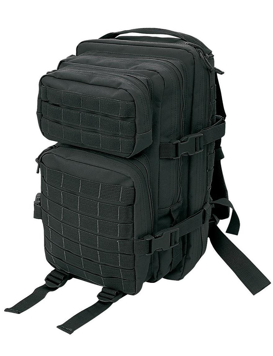 Assault Pack I S US Rucksack Trekking Army Wandern Black