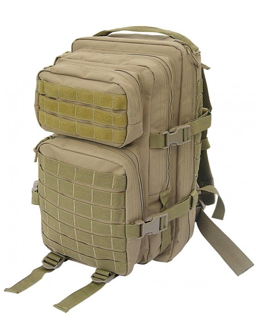 Assault Pack I S US Rucksack Trekking Army Wandern Coyote