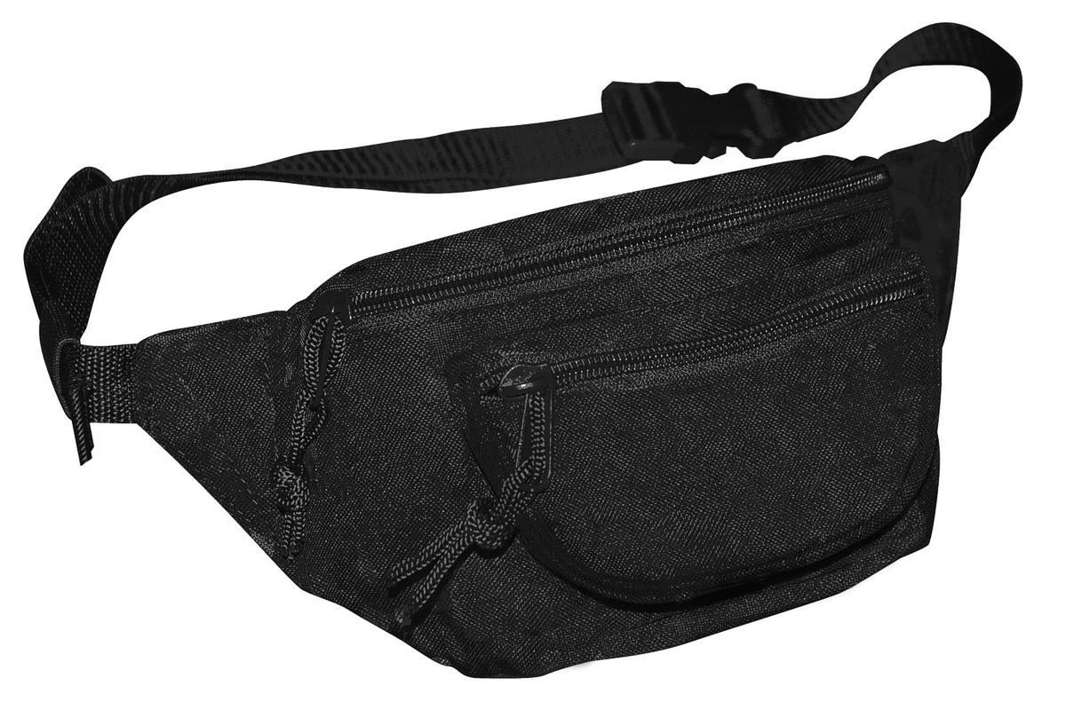 Bauchtasche Doggy Bag Gürteltasche Hüfttasche ca. 3 L Army Schwarz