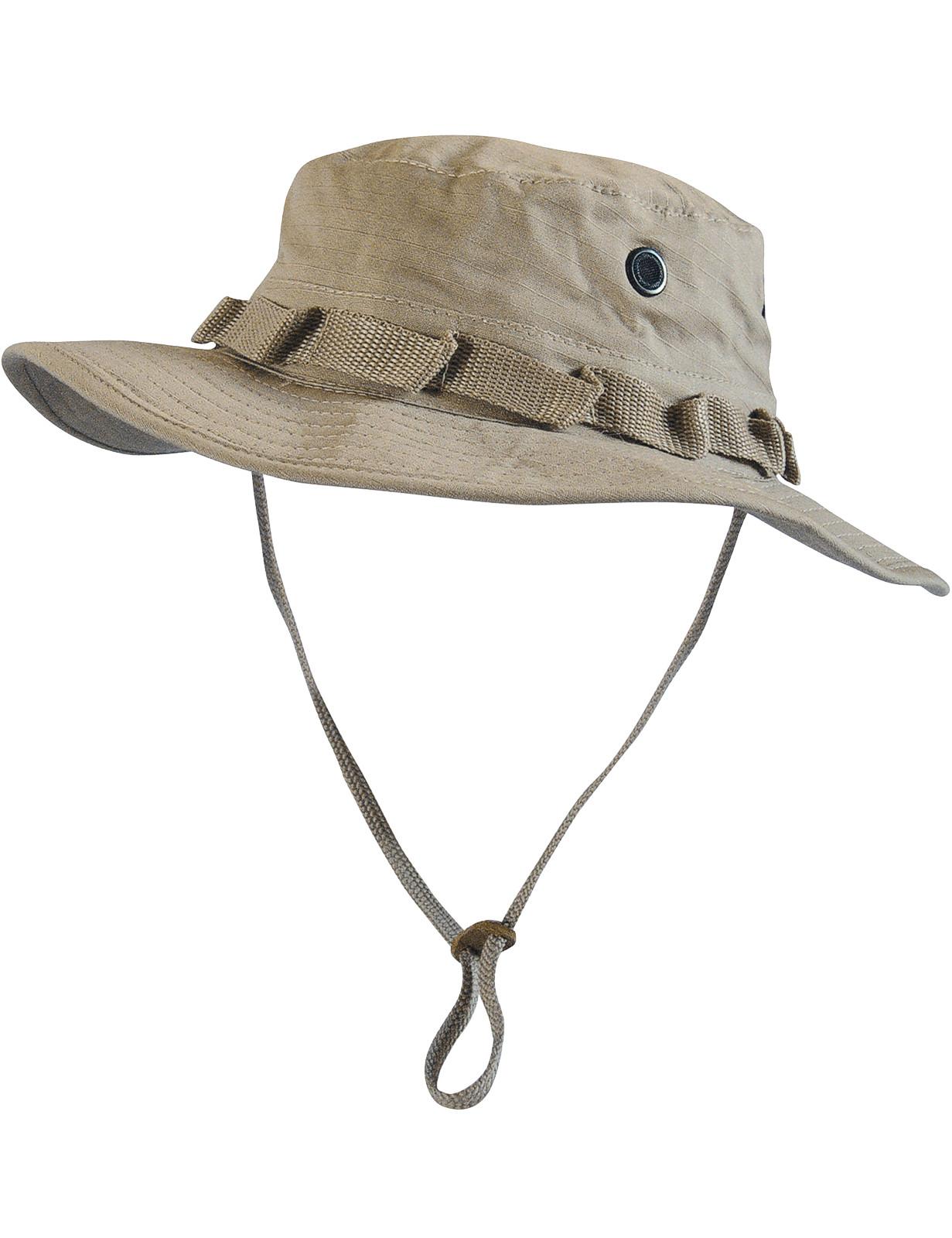 Boonie Hat Buschut GI Army Tropen Hut Beige
