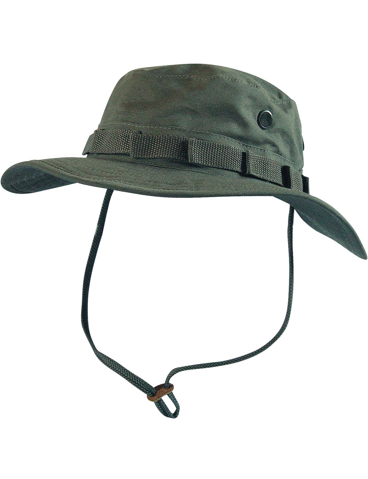 Boonie Hat Buschut GI Army Tropen Hut Grün Oliv