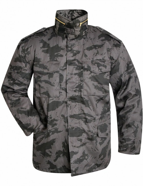 US Army Feldjacke M65 mit Thermofutter Russian Night Camo