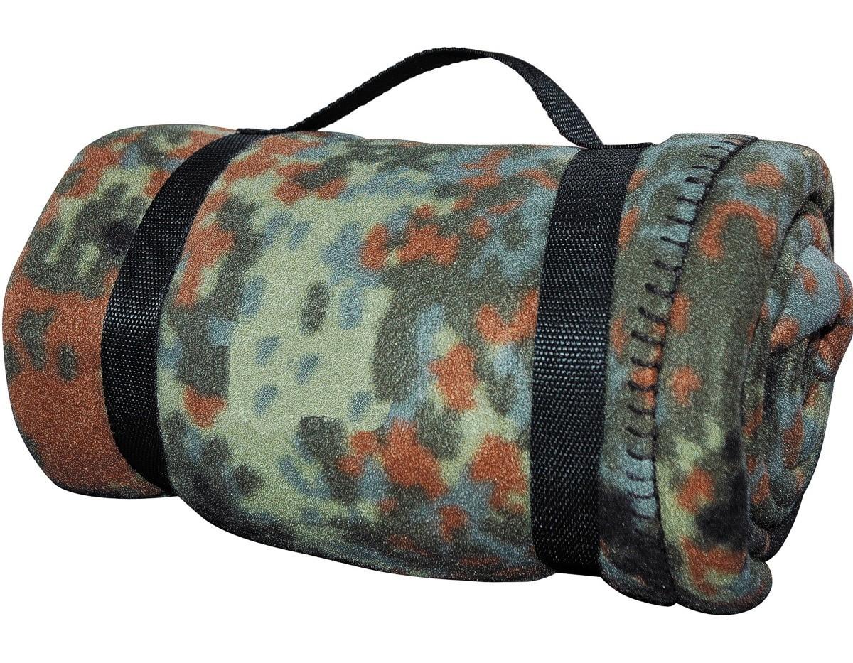 Army-Style-Decke Fleecedecke 140x190 Flecktarn