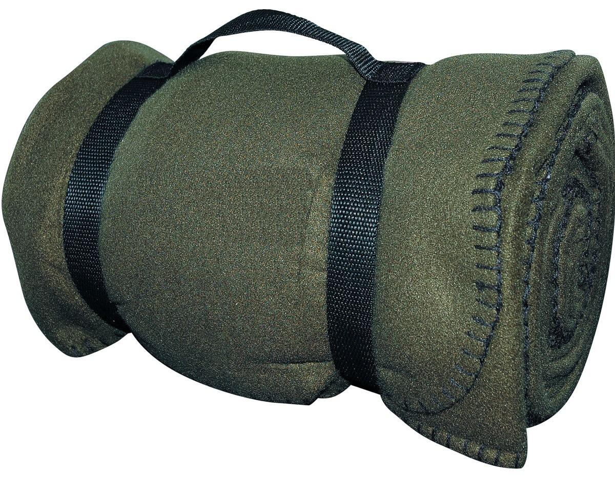 Army-Style-Decke Fleecedecke 140x190 Oliv
