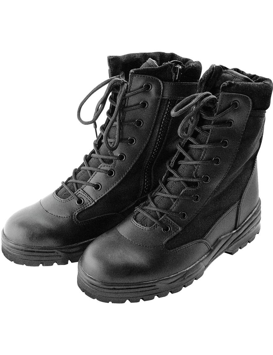 Outdoor-Boots Wander-Schuhe »Patriot Style« Schwarz