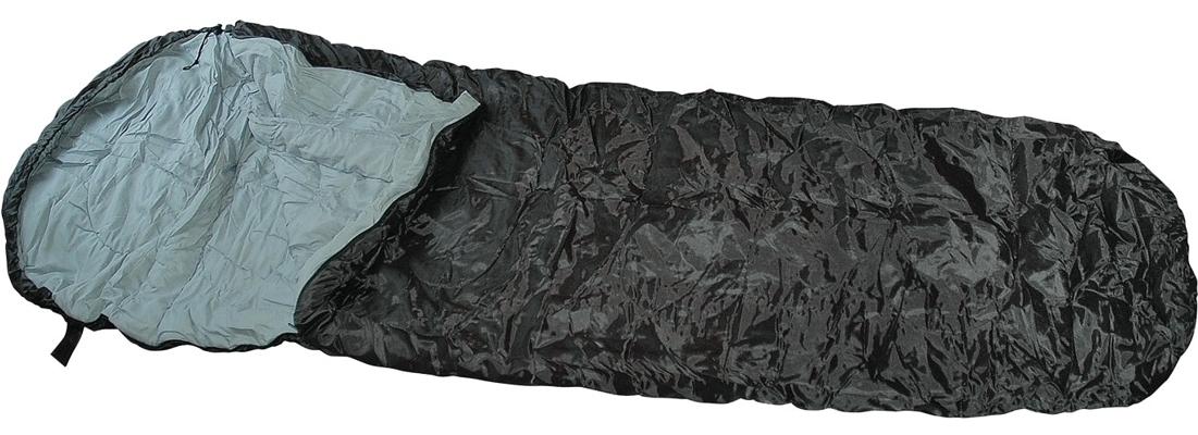 Mumien-Schlafsack Schwarz