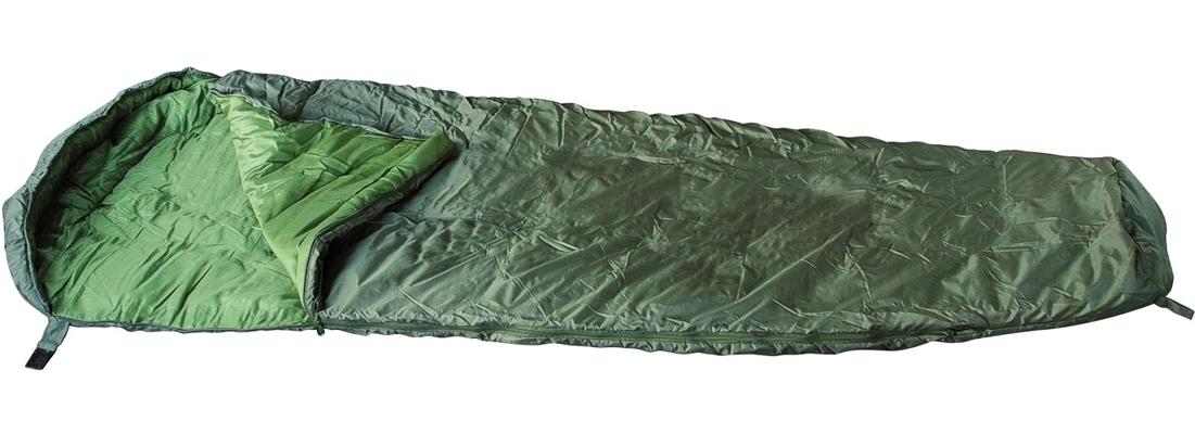 Mumien-Schlafsack Oliv