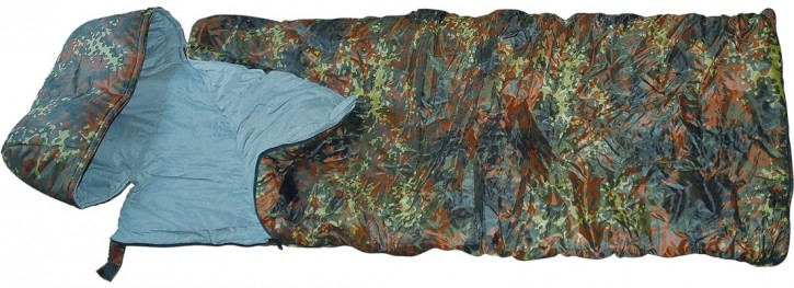 Pilot-Schlafsack »Cold Weather« Flecktarn