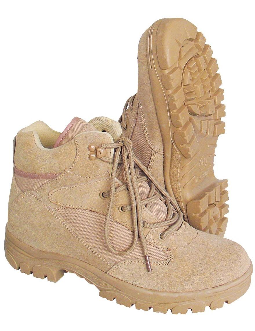 Outdoor-Boots Wander-Schuhe »Semi-Cut« Beige