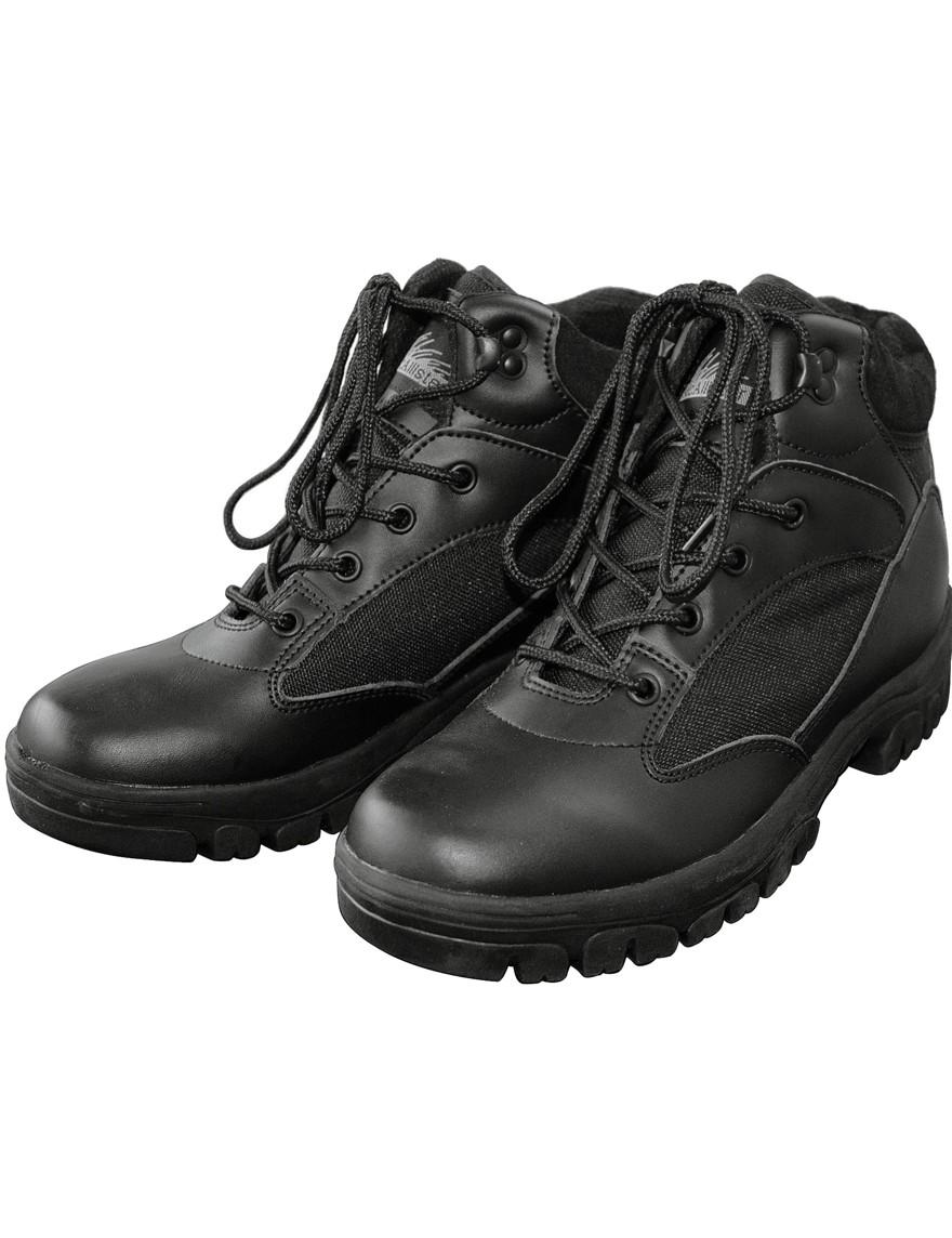 Outdoor-Boots Wander-Schuhe »Semi-Cut« Schwarz