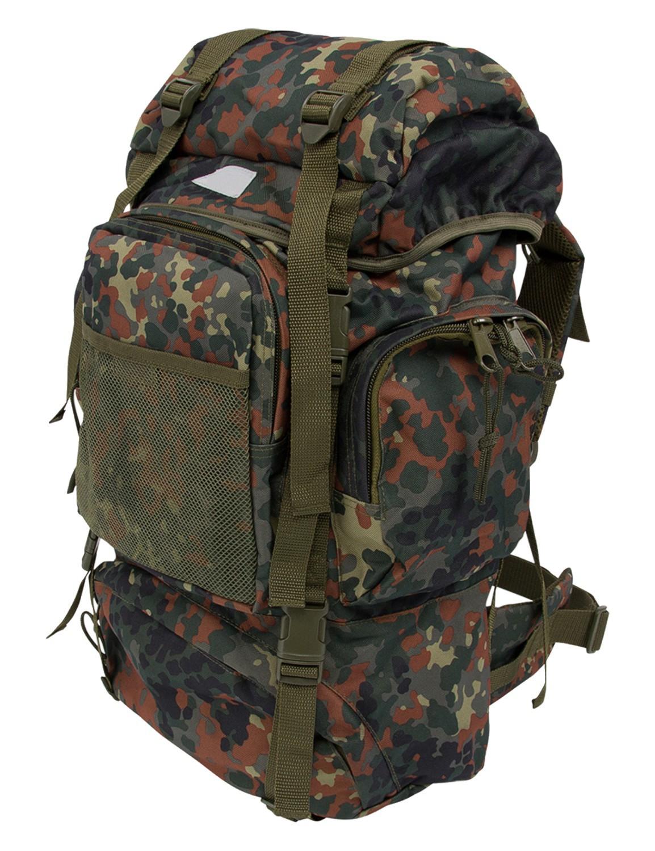 Tactical Rucksack Einsatz Rucksack Trekking Outdoor Wandern Flecktarn