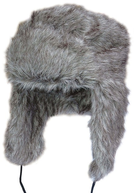 Tschapka Russian Style Wolfgrau
