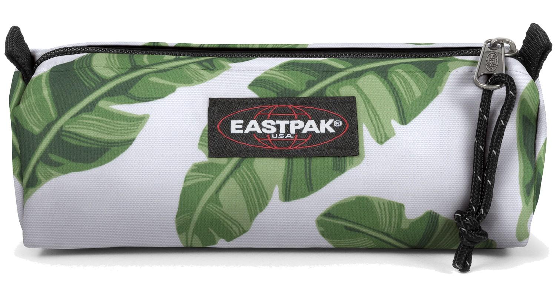 Eastpak Schlampermäppchen »Benchmark« Brize Leaves Natural Weiß Grün