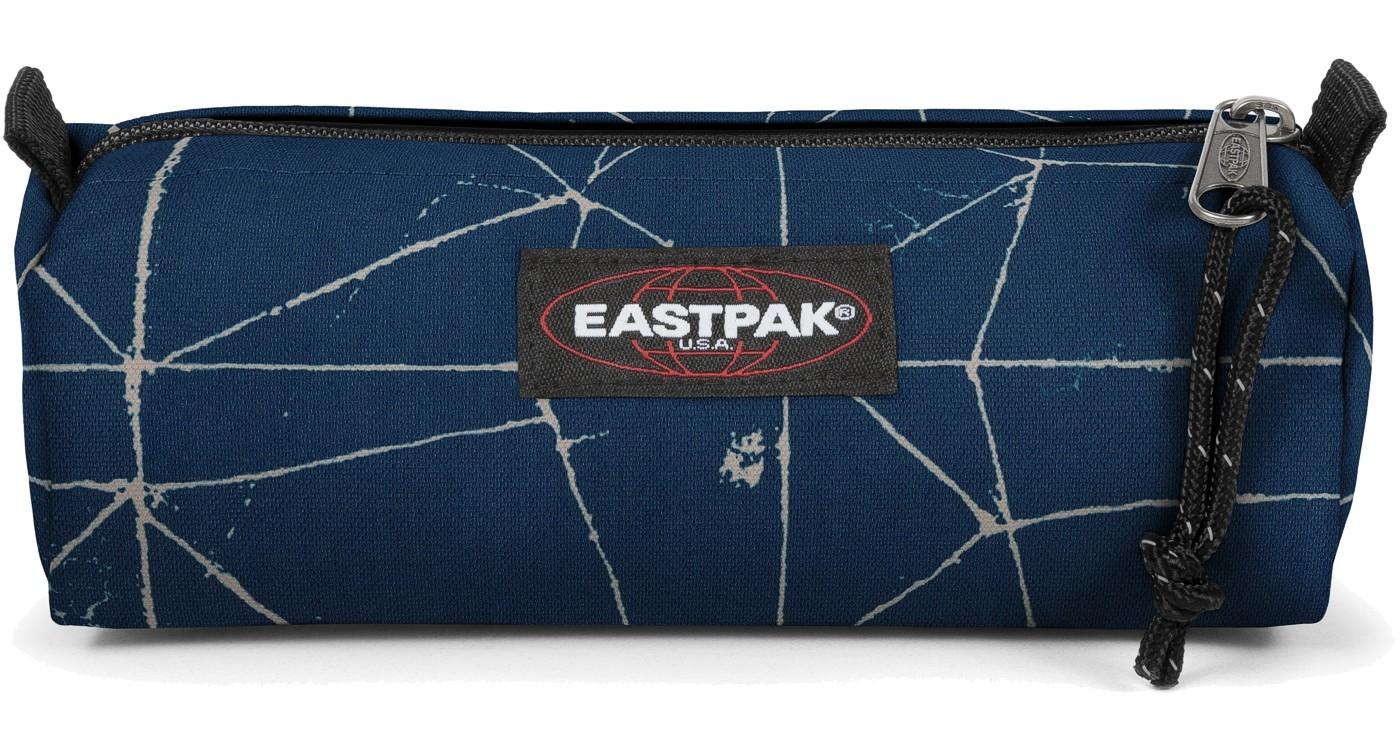 Eastpak Schlampermäppchen »Benchmark« Cracked Blue