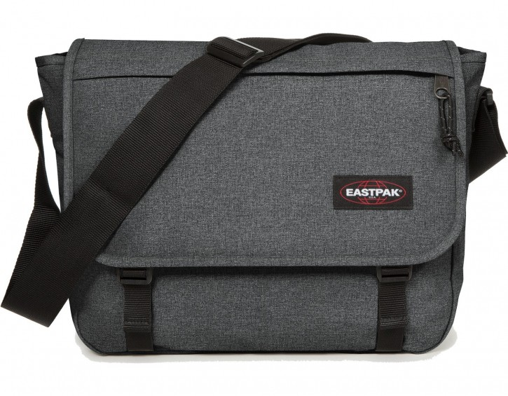 Eastpak Schulter- Umhängetasche »Delegate+« Notebookfach Black Denim