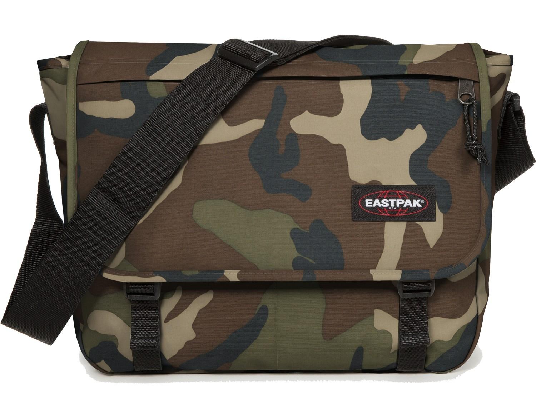 Eastpak Schulter- Umhängetasche »Delegate« Plus Notebookfach Camo