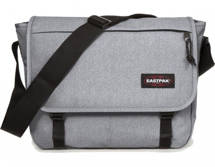 Eastpak Schulter- Umhängetasche »Delegate« Plus Notebookfach Sunday Grey Grau