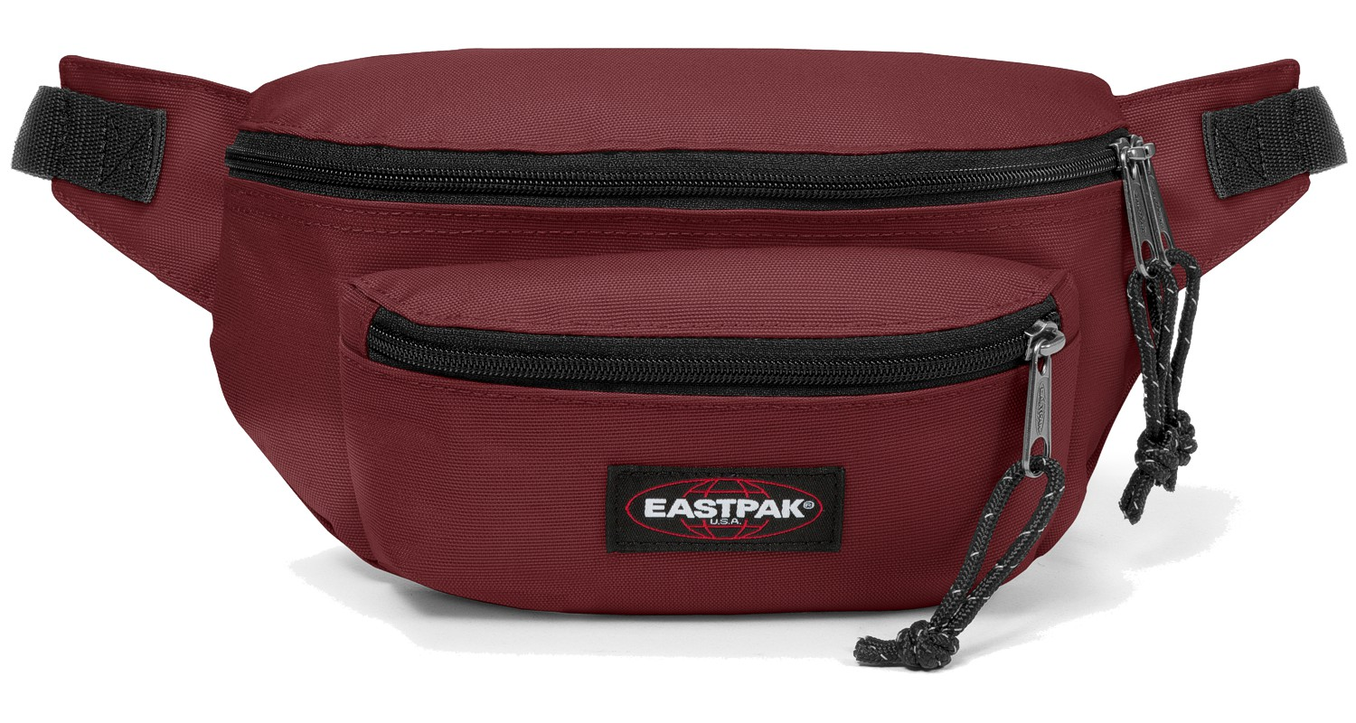 Eastpak Bauchtasche »Doggy Bag« Brisk Burgundy Bordeaux Rot