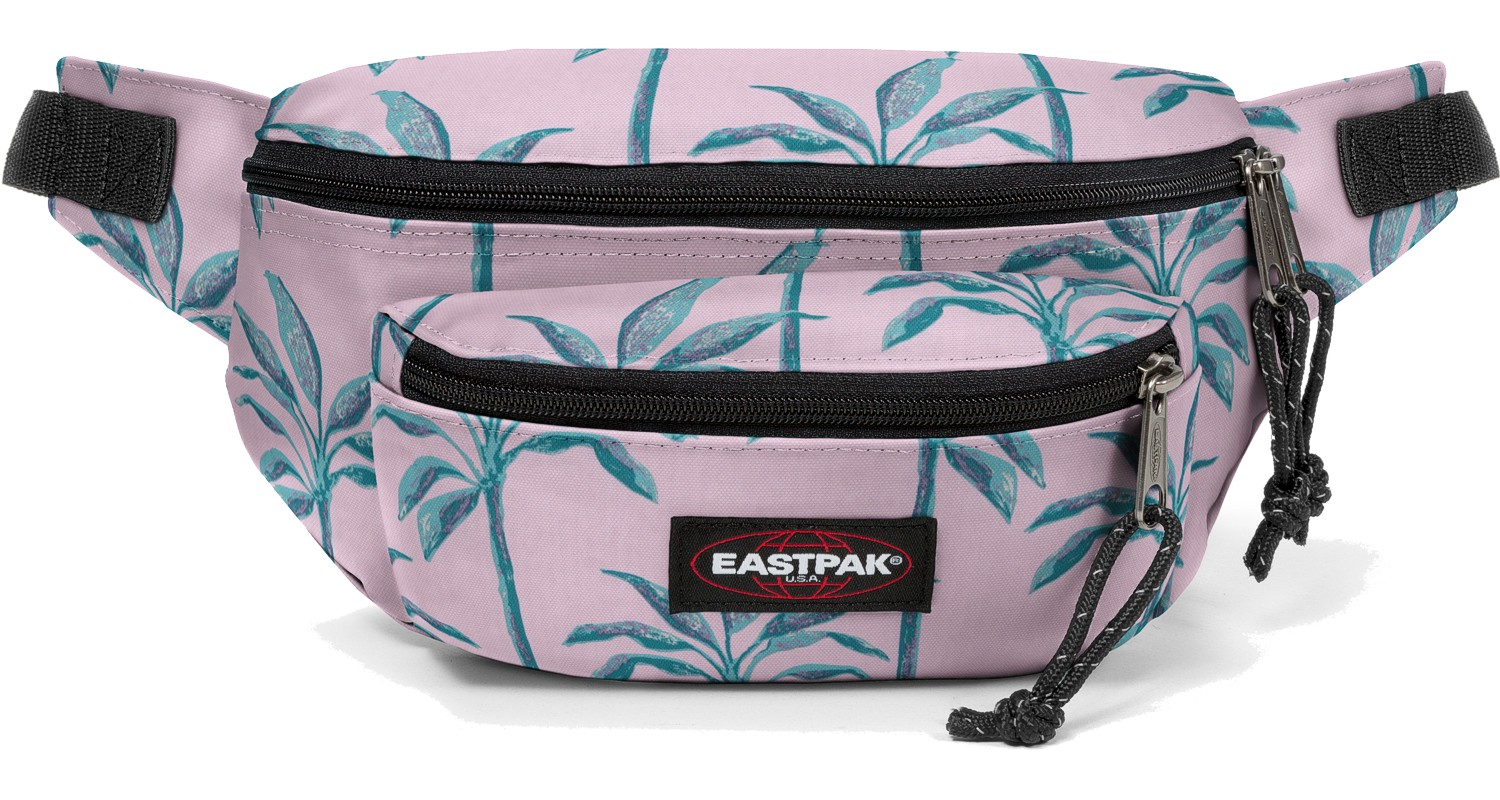 Eastpak Bauchtasche »Doggy Bag« Brize Trees / Rosa