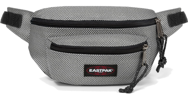 Eastpak Bauchtasche »Doggy Bag« Meshknit Black / Grau Schwarz
