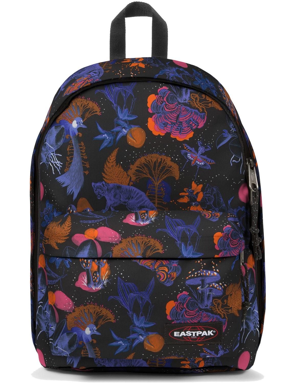 Eastpak Rucksack »Out of Office« mit Laptopfach Bozoo Purple Dschungel Print