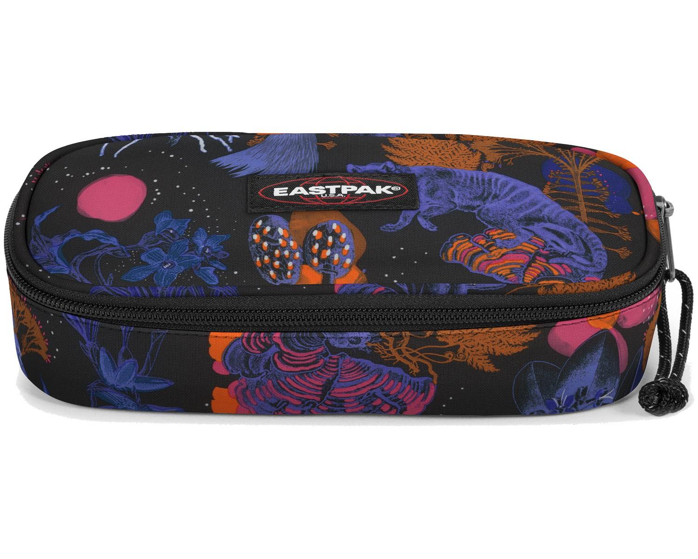 Eastpak Schlampermäppchen »Oval« Bozoo Purple Dschungel Print