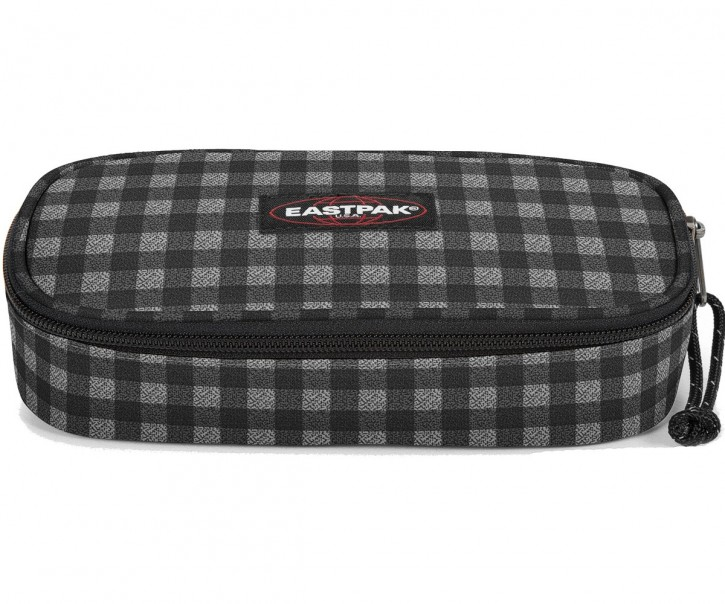 Eastpak Schlampermäppchen »Oval« Checksange Black
