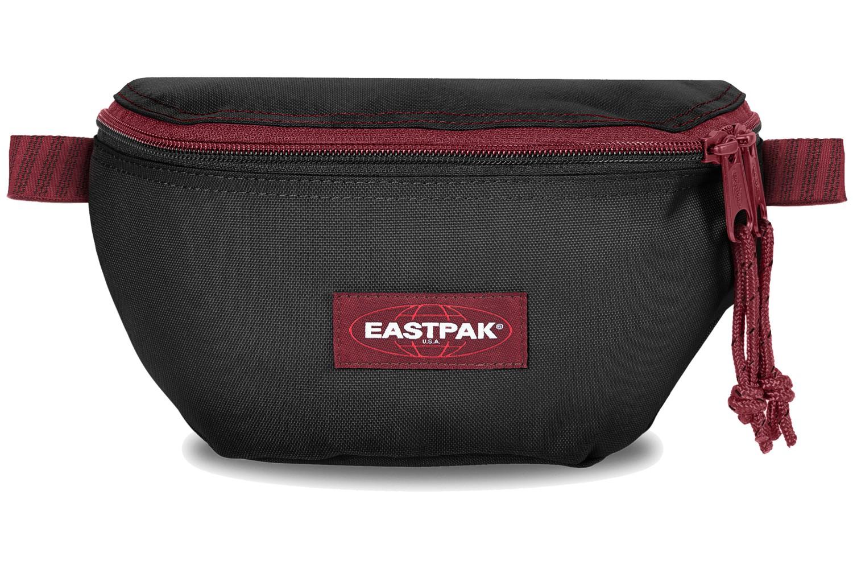 Eastpak Bauchtasche »Springer« Blakout Stripe Red Schwarz