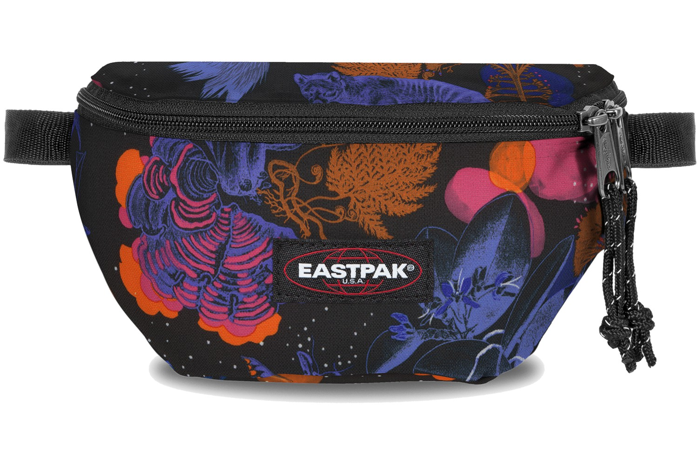 Eastpak Bauchtasche »Springer« Bozoo Purple Dschungel Print