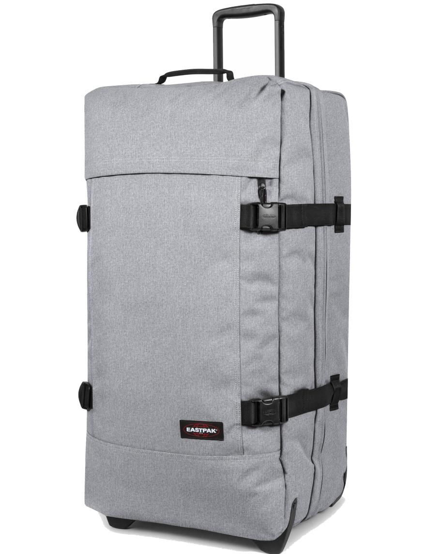 eastpak trolley koffer reisetasche tranverz l sunday grey grau ebay. Black Bedroom Furniture Sets. Home Design Ideas