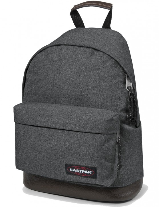Eastpak Rucksack »Wyoming« mit Lederboden Black Denim
