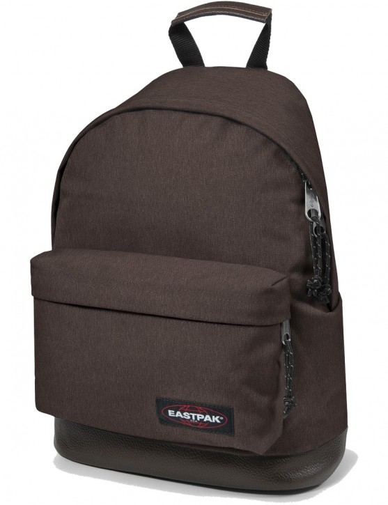 Eastpak Rucksack »Wyoming« mit Lederboden Crafty Brown Braun