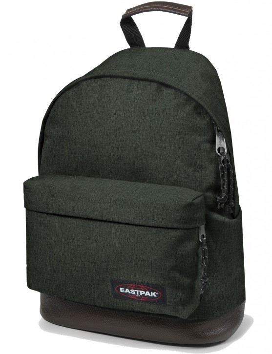 Eastpak Rucksack »Wyoming« mit Lederboden Crafty Moss
