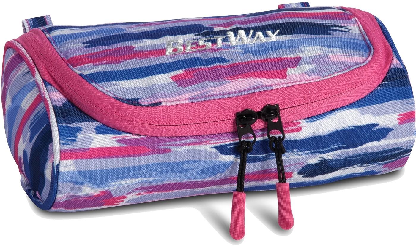 Schlampermäppchen Federmäppchen Bestway »Evolution« Marineblau-Pink