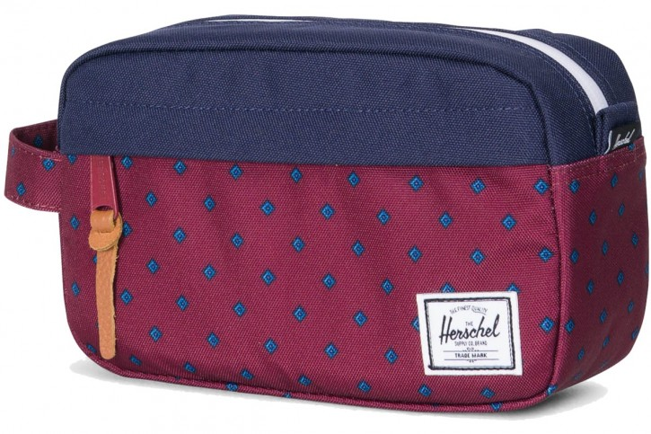 Herschel »Chapter« 3L Kulturtasche University Windsor Wine Peacoat