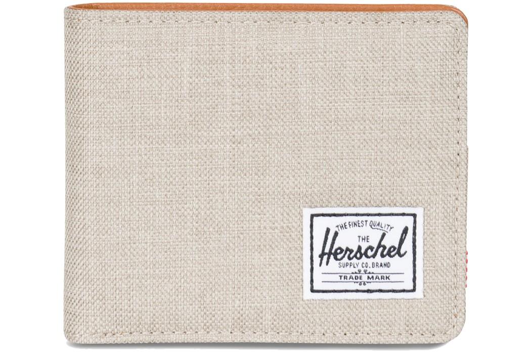 Herschel Geldbeutel Geldbörse »Hank« Light Khaki Crosshatch