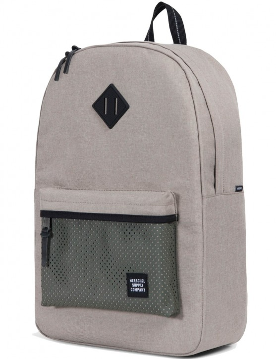 Herschel Rucksack »Heritage« Light Khaki Crosshatch Forest Night