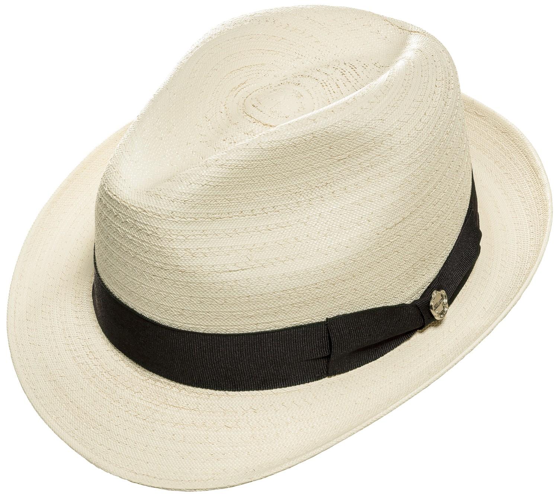 Strohhut Beach Havanna Bogart Herren Damen Edel & Elegant »Sevin«