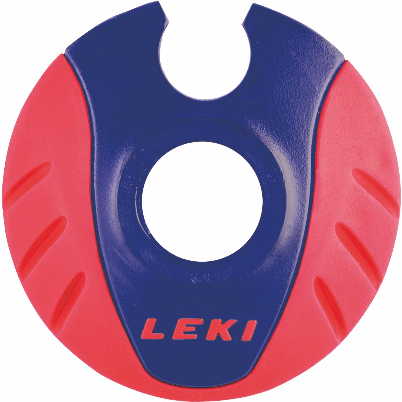 LEKI Cobra-Teller Ø 50mm Neonrot Blau 1 Paar