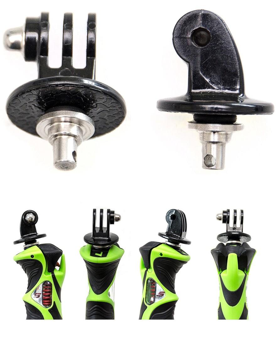 LEKI GoPro™ Adapter für Skistöcke mit E-CAP Symbol