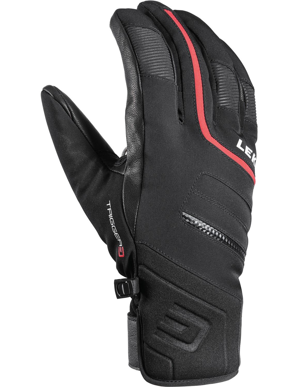 LEKI Ski Handschuhe »Falcon 3D« Trigger 3D Schwarz-Rot