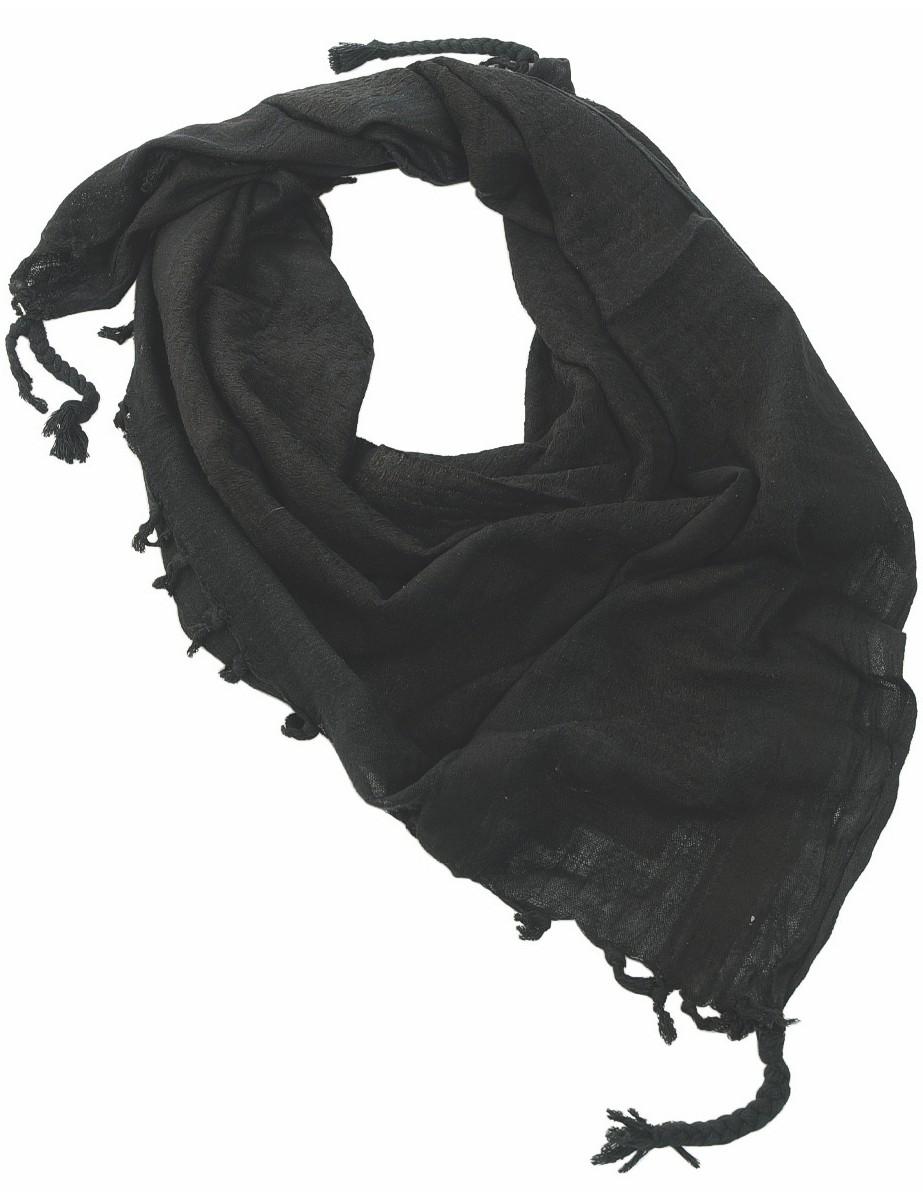 Shemagh Palästinenser Tuch Kopftuch Schal Halstuch Schwarz