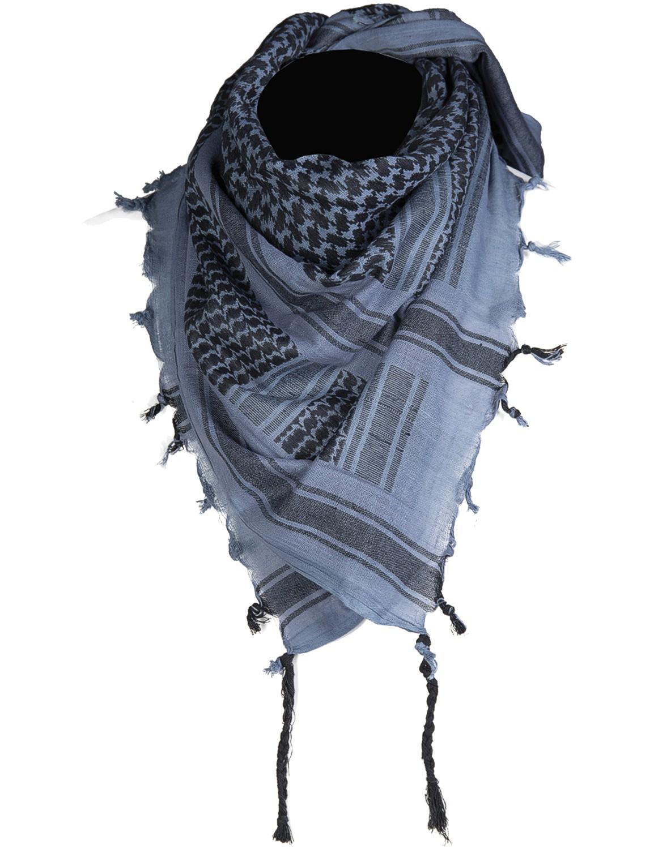 Shemagh Palästinenser Tuch Kopftuch Schal Halstuch Blau Schwarz
