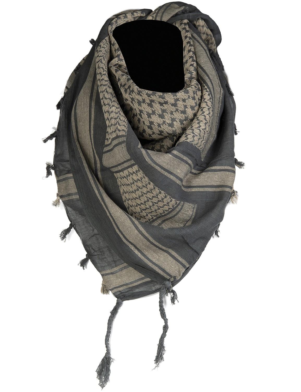 Shemagh Palästinenser Tuch Kopftuch Schal Halstuch Foliage-Uni