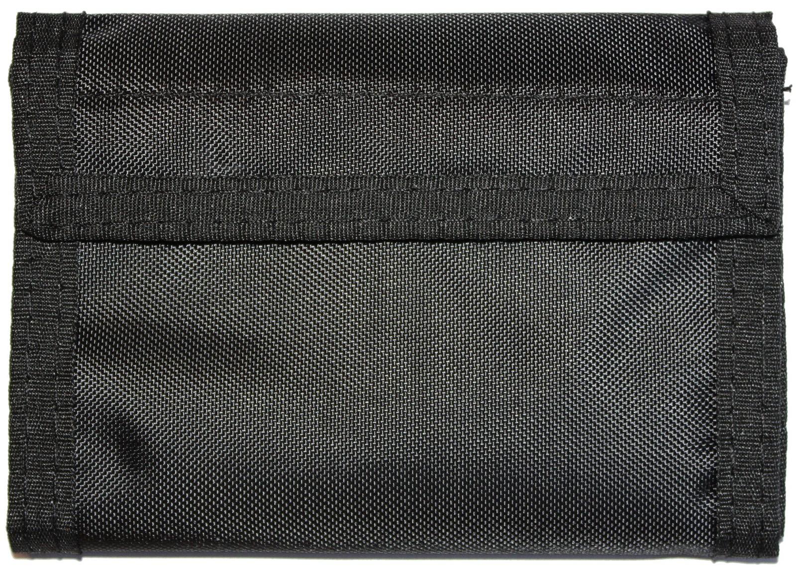 Mil-Tec Geldbeutel Geldbörse Klettverschluss Schwarz