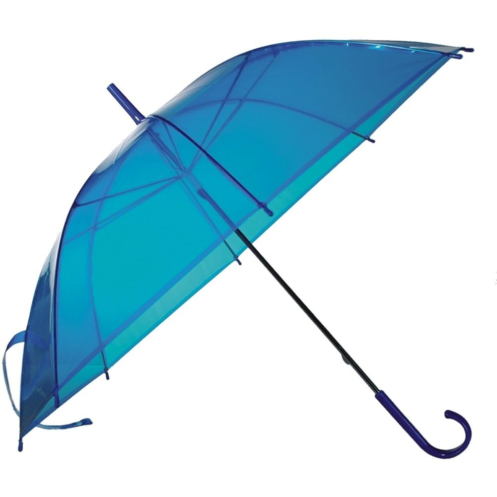 Regenschirm »Transparent I« Ø ca.83 cm Blau
