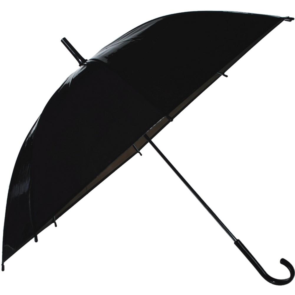 Regenschirm »Transparent I« Ø ca.83 cm Schwarz