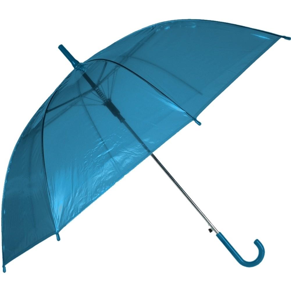 Regenschirm »Transparent II« Ø ca.88 cm Blau