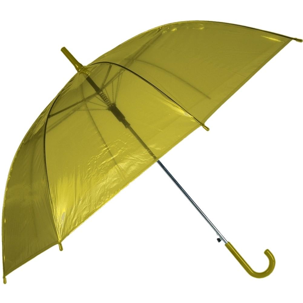 Regenschirm »Transparent II« Ø ca.88 cm Gelb