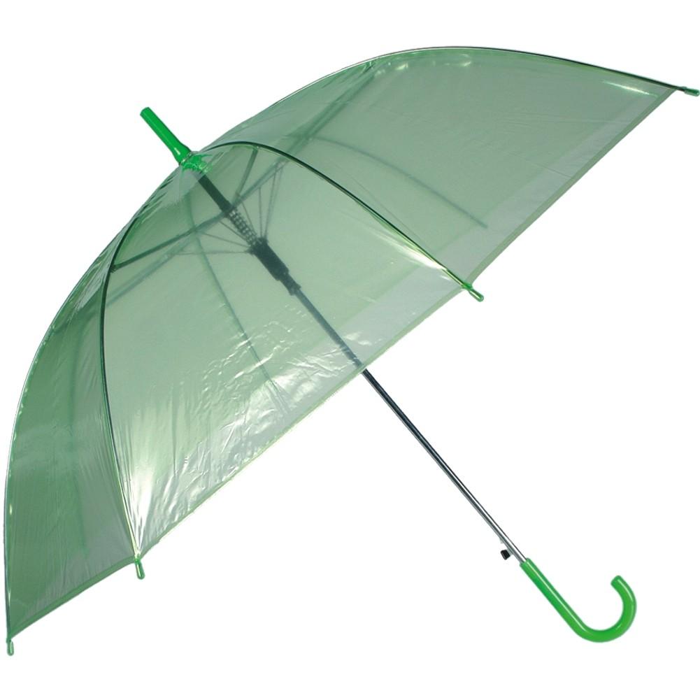 Regenschirm »Transparent II« Ø ca.88 cm Grün